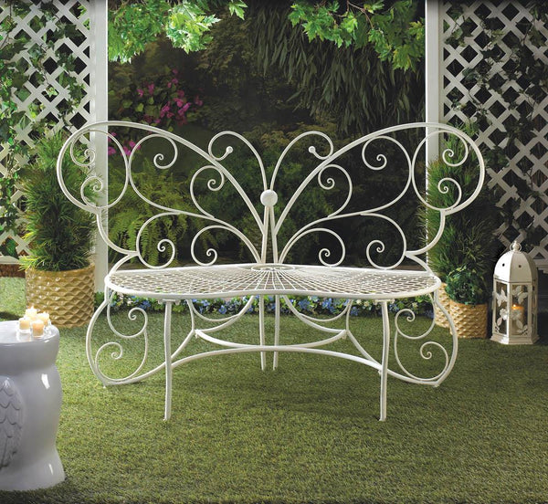 Butterfly Garden Bench - Distinctive Merchandise