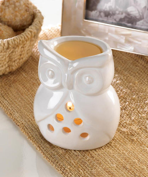 CHARMING OWL OIL WARMER - Distinctive Merchandise