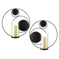 Circular Wall Sconces - Distinctive Merchandise