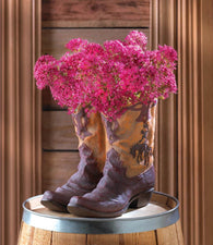 Cowboy Boots Planter - Distinctive Merchandise
