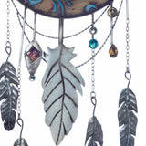 CRESCENT MOON DREAMCATCHER WALL DECOR - Distinctive Merchandise