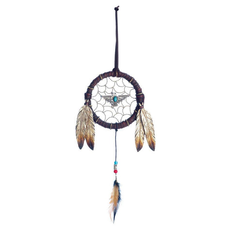FEATHER DREAMCATCHER DECORATION - Distinctive Merchandise