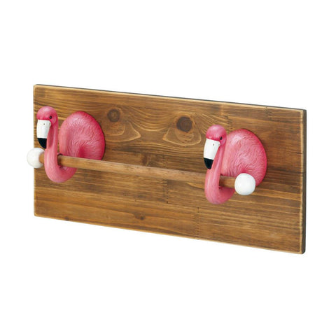 FLAMINGO TOWEL HOLDER - Distinctive Merchandise