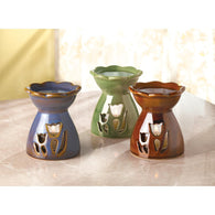 Flower Oil Warmer Trio - Distinctive Merchandise