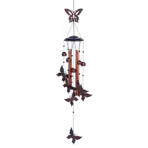 Fluttering Butterflies Wind Chimes - Distinctive Merchandise