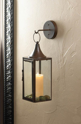 GATEHOUSE HANGING CANDLE LANTERN - Distinctive Merchandise