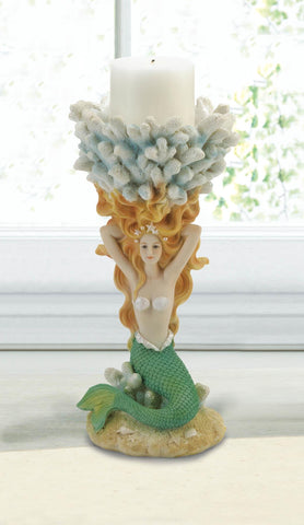 Grand Mermaid Candleholder - Distinctive Merchandise