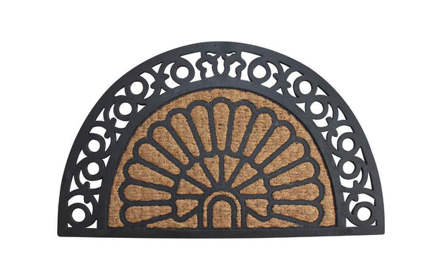 Half Moon Fancy Welcome Mat - Distinctive Merchandise