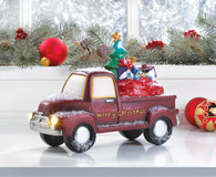 LIGHT-UP TOY DELIVERY TRUCK