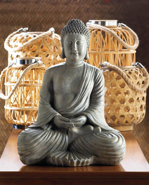 MEDITATION BUDDHA STATUE - Distinctive Merchandise