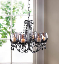 MIDNIGHT ELEGANCE CHANDELIER - Distinctive Merchandise