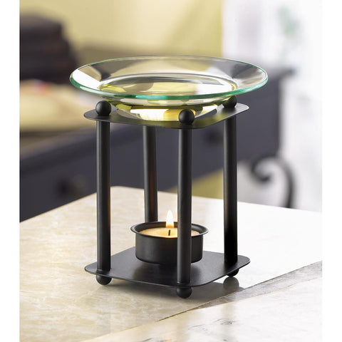 Modern-Art Oil Warmer - Distinctive Merchandise