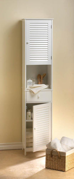 Nantucket Bath Tall Cabinet - Distinctive Merchandise