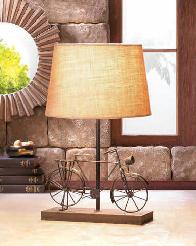 Old-Fashion Bicycle Table Lamp - Distinctive Merchandise