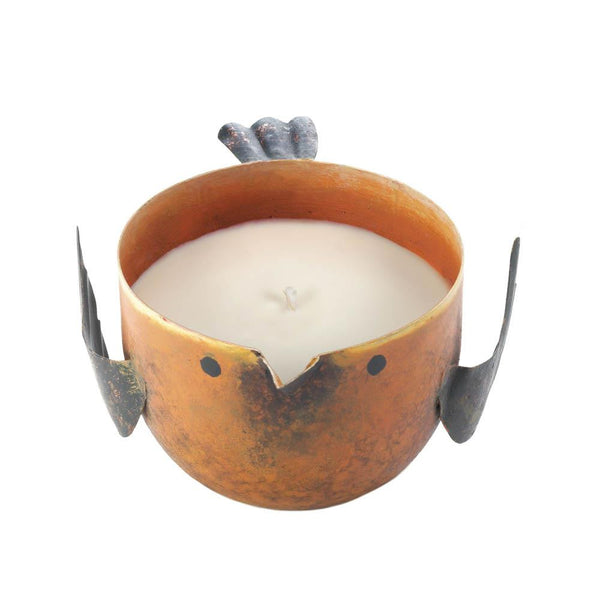 PEACH & GRAPEFRUIT BIRDIE CANDLE - Distinctive Merchandise
