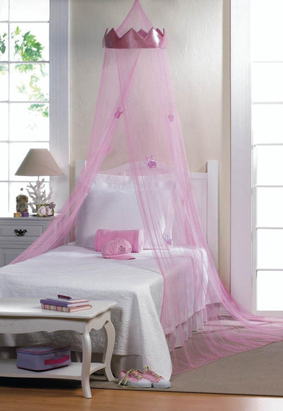 PINK PRINCESS BED CANOPY - Distinctive Merchandise