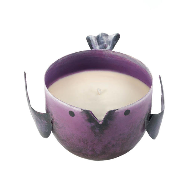 POMEGRANATE BIRDIE CANDLE - Distinctive Merchandise