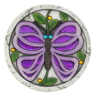 Purple Butterfly Garden Stepping Stone - Distinctive Merchandise