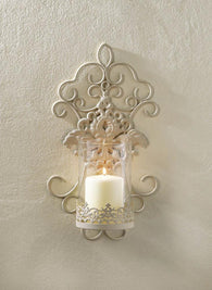 Romantic Lace Wall Sconce - Distinctive Merchandise