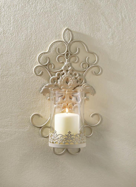 ETA 1/14/18 -ROMANTIC LACE WALL SCONCE - Distinctive Merchandise