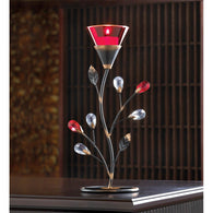 Ruby Blossom Tealight Holder - Distinctive Merchandise