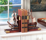 SAILING SCHOONER BOOKENDS - Distinctive Merchandise