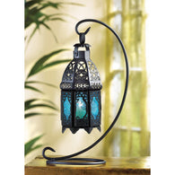 SAPPHIRE NIGHTS TABLE LANTERN - Distinctive Merchandise