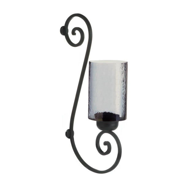 Smoked Glass Wall Sconce - Distinctive Merchandise