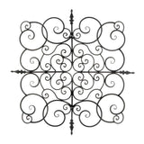 Square Fleur-De-Lis Wall Plaque - Distinctive Merchandise