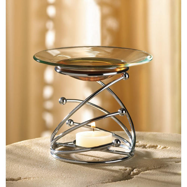 SWIRL OIL WARMER - Distinctive Merchandise