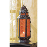 TALL MOROCCAN-STYLE CANDLE LANTERN - Distinctive Merchandise