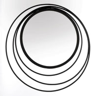 Three Ring Wall Mirror - Distinctive Merchandise
