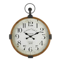 Vintage Industrial Wall Clock - Distinctive Merchandise