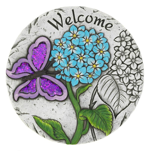Welcome Butterfly Garden Stepping Stone - Distinctive Merchandise