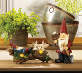 Welcome Gnome Solar Garden Decoration - Distinctive Merchandise