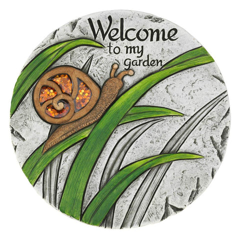 Welcome To My Garden Stepping Stone - Distinctive Merchandise
