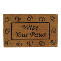 WIPE YOUR PAWS WELCOME MAT - Distinctive Merchandise