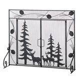 Woodland Forest Fireplace Screen - Distinctive Merchandise