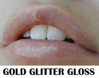 Gold Glitter LipSense Gloss - Distinctive Merchandise