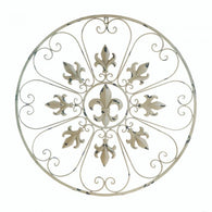 Circular Fleur-De-Lis Wall Décor - Distinctive Merchandise
