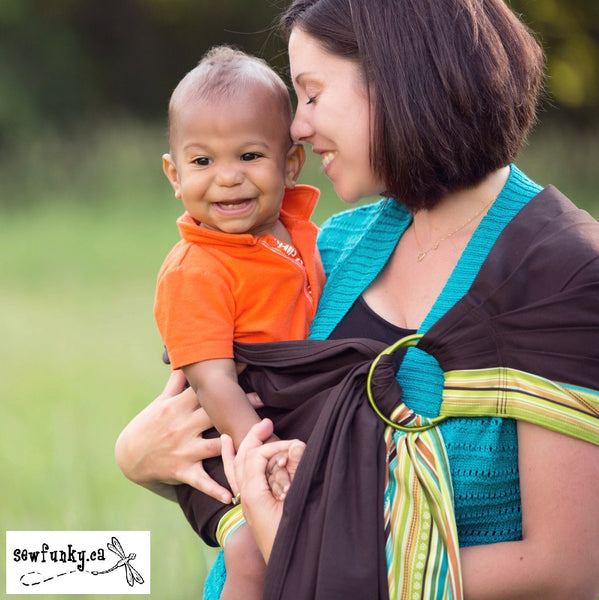 Sewfunky Beautiful Ring Slings For Wearing Your Baby Made In Canada