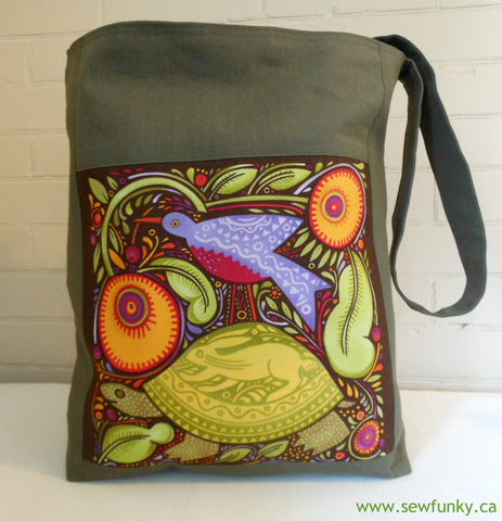 Sewfunky Hemp Tortoise Bag