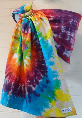 Sewfunky Hand Dyed Hemp Cotton Sling Rainbow