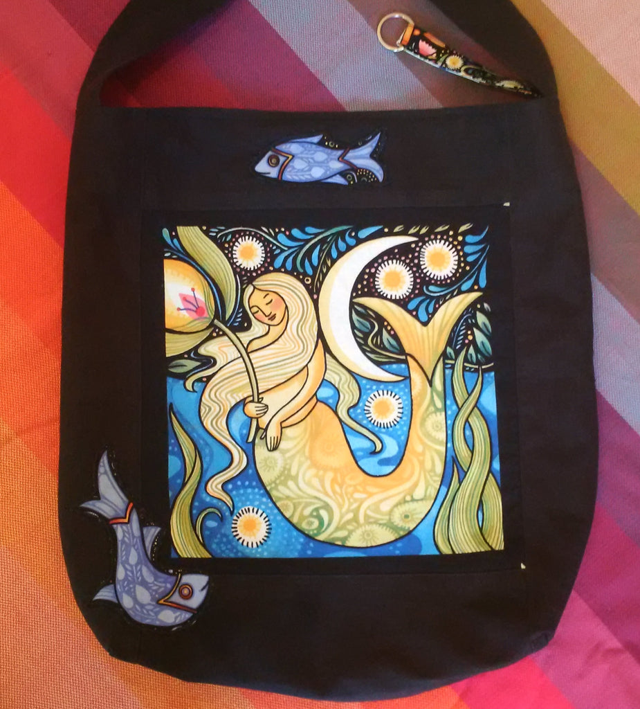 Sewfunky Hemp Mermadia Bag