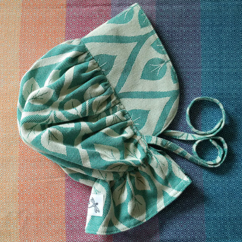 Sewfunky Sun Bonnet - Emerald Leaves