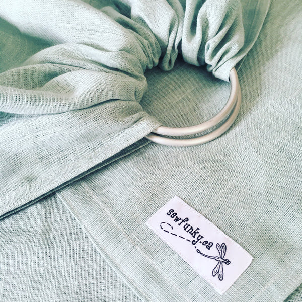 Sewfunky Linen Ring Sling - Meadow