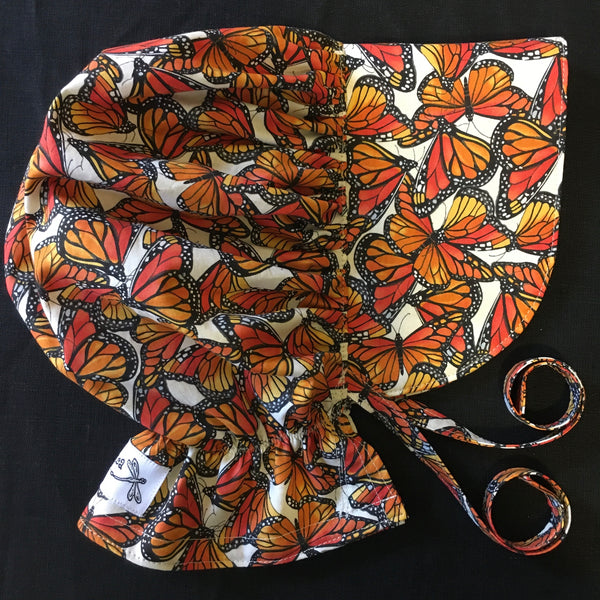 Sewfunky Sun Bonnet - Monarch Butterfly