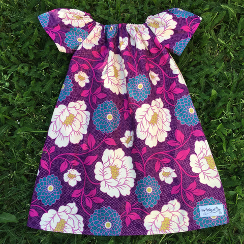 Sewfunky Pixie Dress Darling Dahlia
