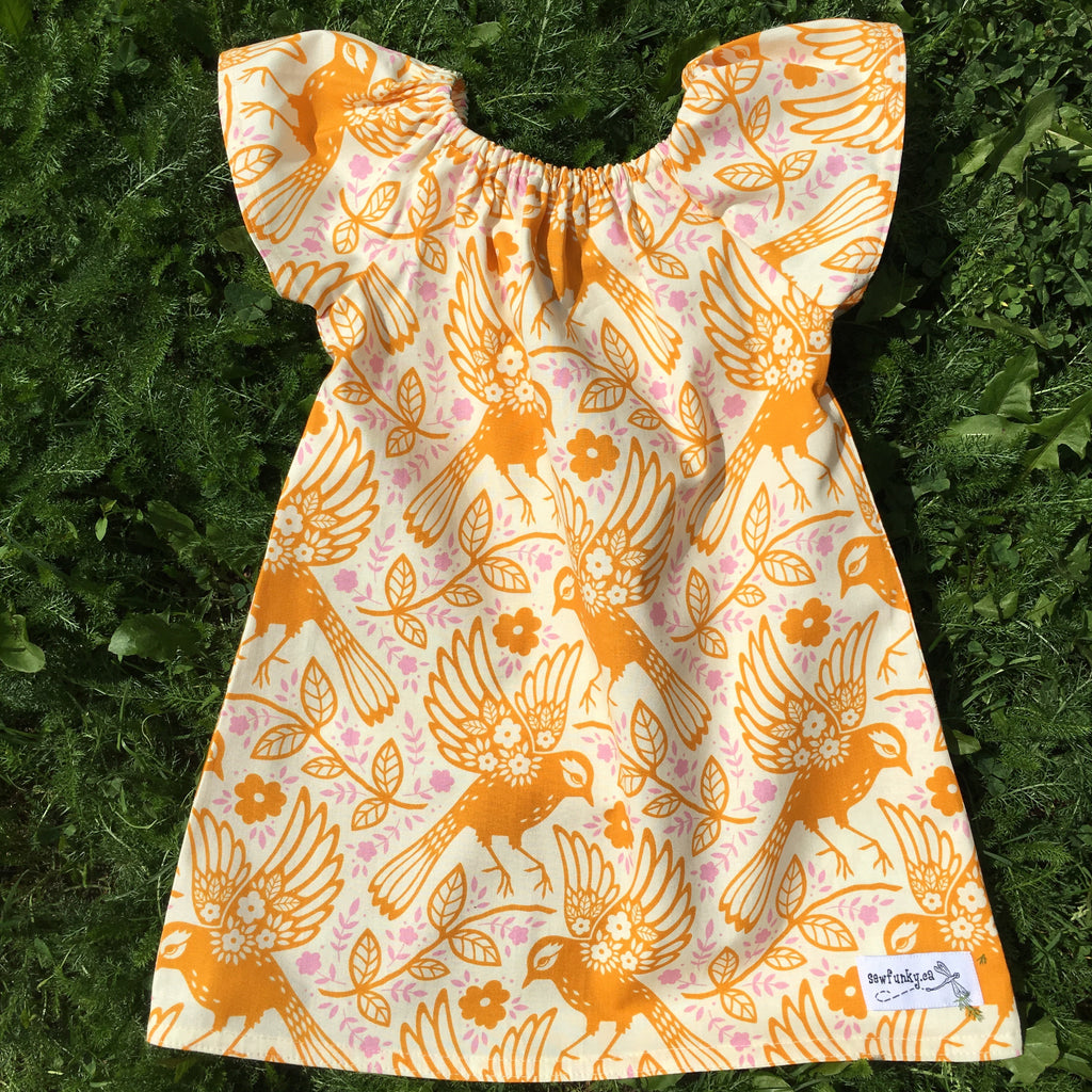 Sewfunky Pixie Dress Meadowlark