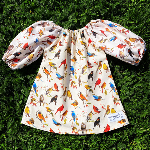 Sewfunky Pixie Dress - Birdwatcher